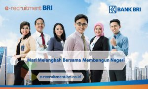 Rekrutmen BRILian Banking Officer Program (BBOP) / Rekrutmen bank BRI